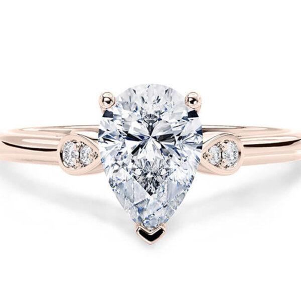 Δαχτυλίδι μονόπετρο γάμου