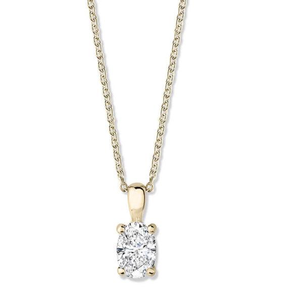 Μονόπετρο διαμάντι 18κ