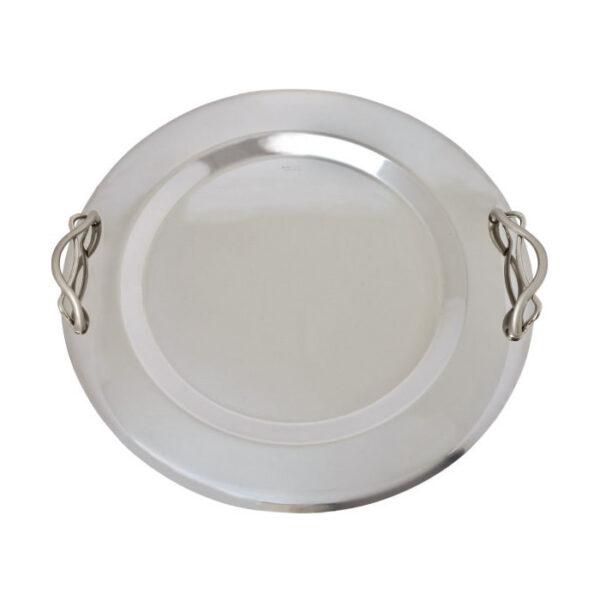 Δίσκος στρογγυλός inox για γάμο