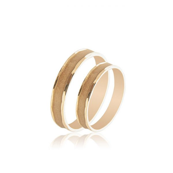 Vintage βέρες γάμου χρυσές - Κόσμημα και ρολόγια Ketsetzoglou